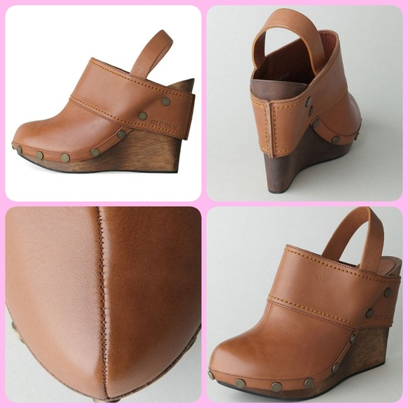 8d5adca2c90 See By Chloe Sling Back Wedge Clogs. M 5c1835193e0caabac5876e22